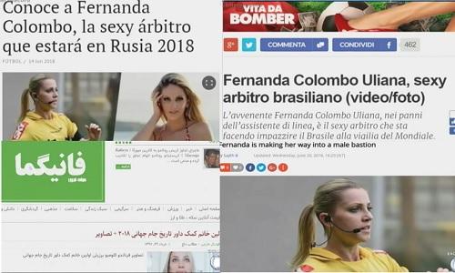 フェルナンダコロンボ ロシアワールドカップ