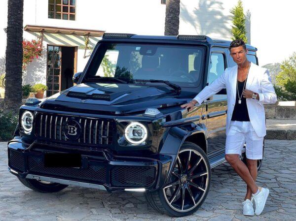 Mercedes G-Wagon Brabus Cristiano Ronaldo